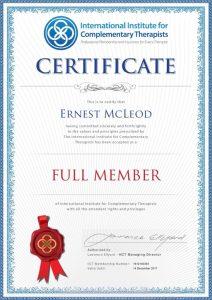 Full Member of IICT