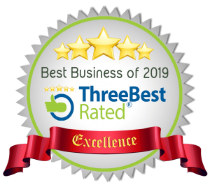 Best Business of 2019 ThreeBest Rated