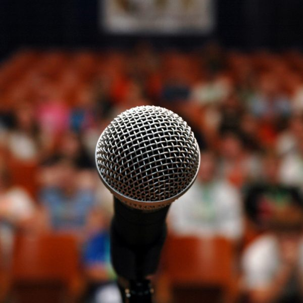 public speaking reflection